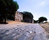 Vía Appia (old Roman road). Rome. Italy