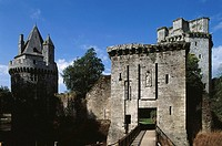 Château de Largoët. Elven. Morhiban. Brittany. France