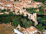 Pont Vell. Besalú. Girona province. Catalunya. Spain
