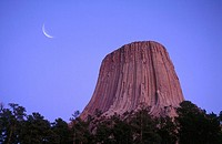 Devils Tower National Monument. Wyoming. USA