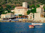 Limeni village at Mani peninsula. Laconia, Peloponnese. Greece