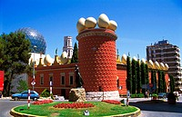Dalí Museum. Figueres. Girona province. Spain