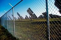 Solar panels. California. USA