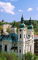 Church of Saint Mary Magdalene. Karlovy Vary. West Bohemia. Czech Republic