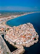 Peñiscola in Castellon province. Comunidad Valenciana. Spain