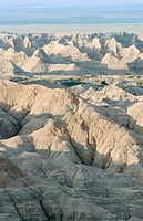 Badlands National Park. South Dakota. USA
