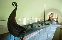 Vikingskipshuset (Viking Ship Museum) in Oslo. Norway