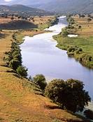 Guadiana River near Puebla de Don Rodrigo. Ciudad Real province, Spain
