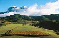Peña Montañesa, Cinca River Valley, Pyrenees Mountains. Huesca province, Spain