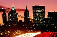Traffic in New York City, USA