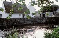Quiet Man Cottage Museum. Cong village, Co. Mayo. Ireland