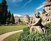 Germany, Würzburg, Main, Franconia, Bavaria, residence, Hofgarten Park, Hof Garden, baroque, sculptor Balthasar Neumann
