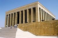 Anit Kabir (Ataturk´s mausoleum). Ankara. Turkey