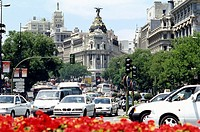Centre of City of Madrid
