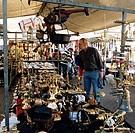 Flea market Waterlooplein  in Amsterdam