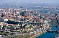 Aerial view of Salamanca. Spain
