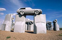 ´Carhenge´ sculpture. Alliance, Nebraska. USA.