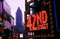 42nd Street. New York City, USA