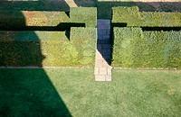 Sissinghurst Castle gardens, designed by Vita Sackville-West in the 1930´s. Kent. England. UK.