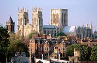 Minster (Cathedral). York. England. UK.