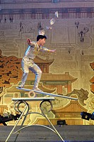 Acrobatic show. Beijing, China