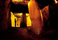 Menga dolmen. Antequera, Málaga province. Spain