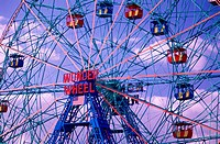 The Wonder Wheel. Coney Island, Brooklyn. New York. USA