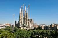 Sagrada Familia, by Antoni Gaudi. Barcelona. Spain.