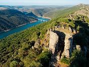 Monfragüe castle. Caceres. Spain.