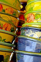 Ceramic bowls. Provence. France