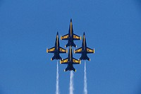 The Blue Angels. US. Navy Acrobatic Team