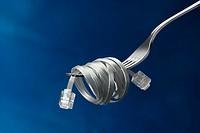 Communications fork.