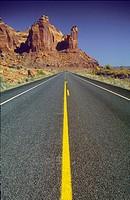 Highway. Utah. USA