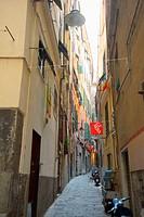 Italy. Liguria. Genoa (Genova). Old Town