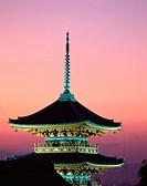 Kiyomizu Buddhist temple. Kyoto. Japan
