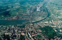 Steelworks. Avilés. Asturias. Spain