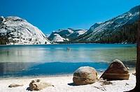 Tenaya Lake. Tuolumne Meadows. California. USA.