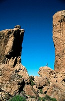 Roque Nublo. Gran Canaria. Canary Islands. Spain.