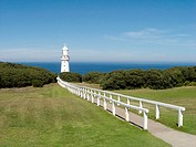 Cape Otway lighthouse, on the Great Ocean Road. Victoria, Australia