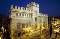 Lonja de la Seda (Silk Exchange). Late gothic, 15th Century. Valencia, Spain