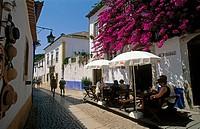 Rua Direita, Óbidos. Leiria district, Portugal