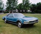 1968 Oldsmobile Toronado automobile.