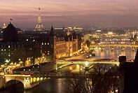 The bridges of Paris. France.