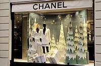 Chanel Store. Rue Cambon. Paris. France.