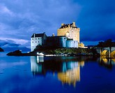 Eilean Donan castle. Highlands. Scotland. UK.
