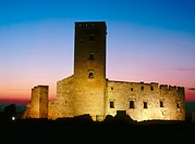 Ciutadilla castle, XIth, renewed in XVIth century. Ciutadilla. L´Urgell. Lleida province. Catalunya. Spain.