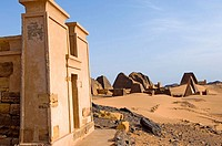 Pyramids of Meroe. The kingdom of Meroe existed in 1,200 years, only to continue in the shape of the kingdom of Nubia(1,100 years). Of these two kingd...