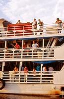 River transporte boat. Brazil, 2005