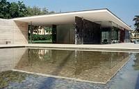 German Pavilion (1929), by Mies van der Rohe. Barcelona, Spain