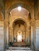 Visigoth church of San Pedro de la Nave. Zamora province, Castilla-León, Spain